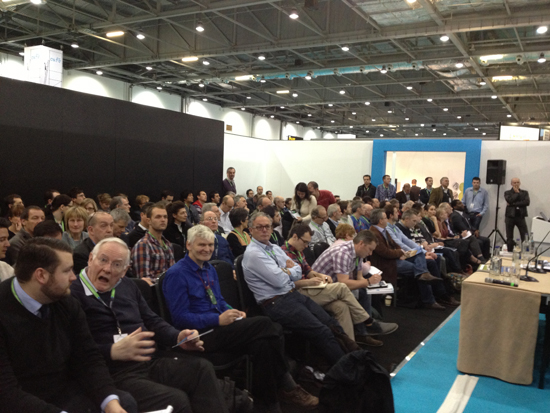 Ecobuild session