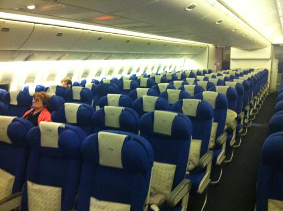 Empty-aircraft