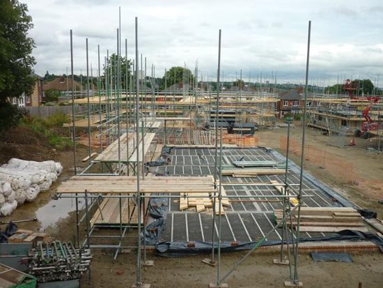 Lilac-scaffolding