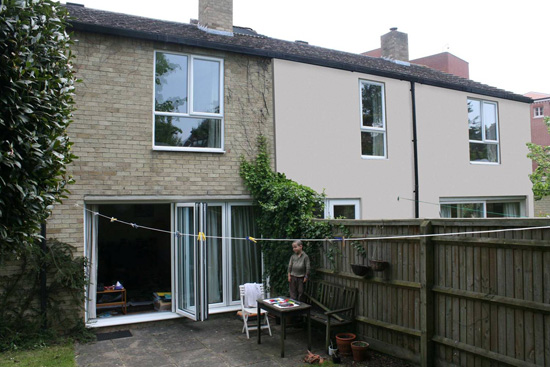 Proposed external insulation