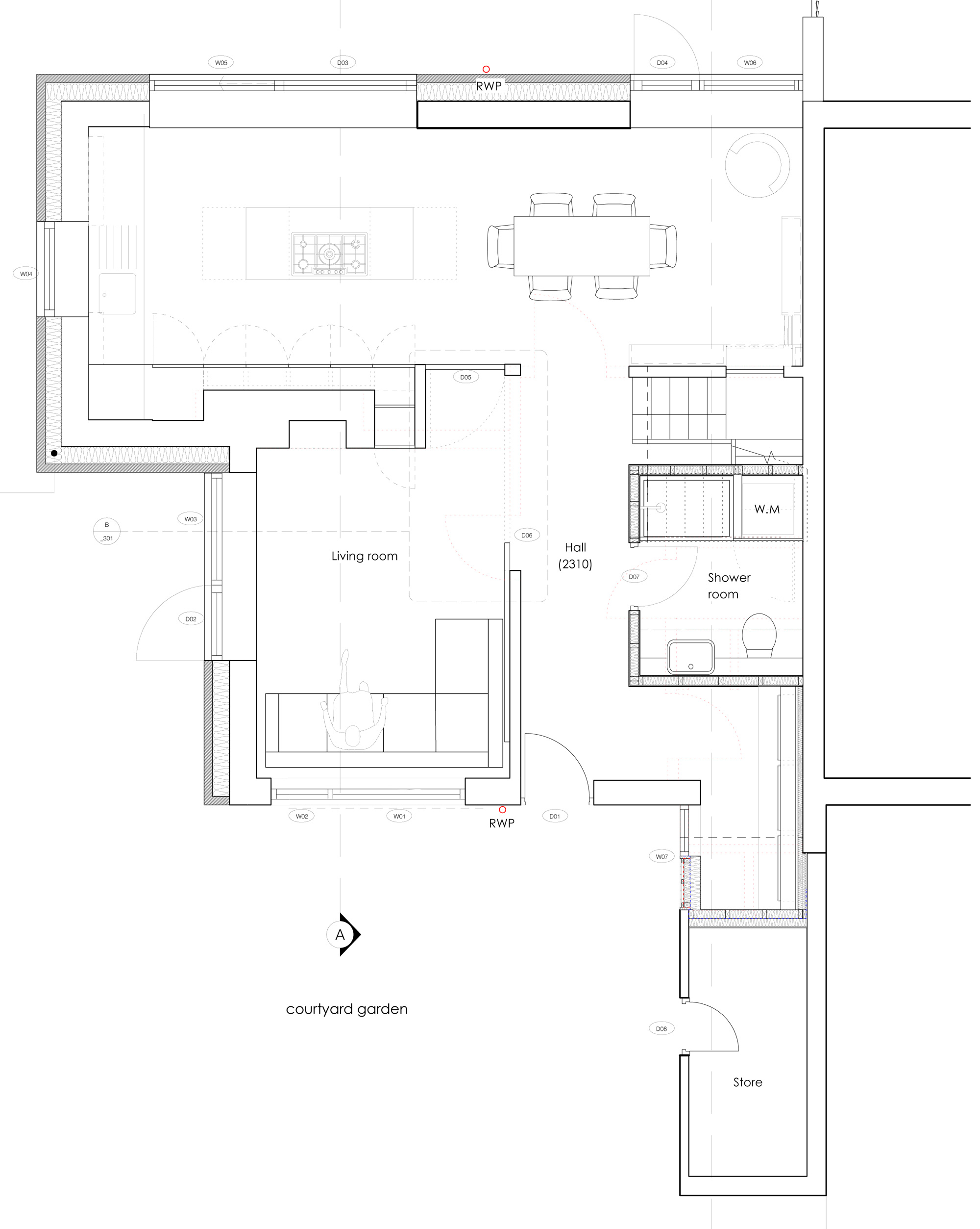 Ground-and-first-floor-plans
