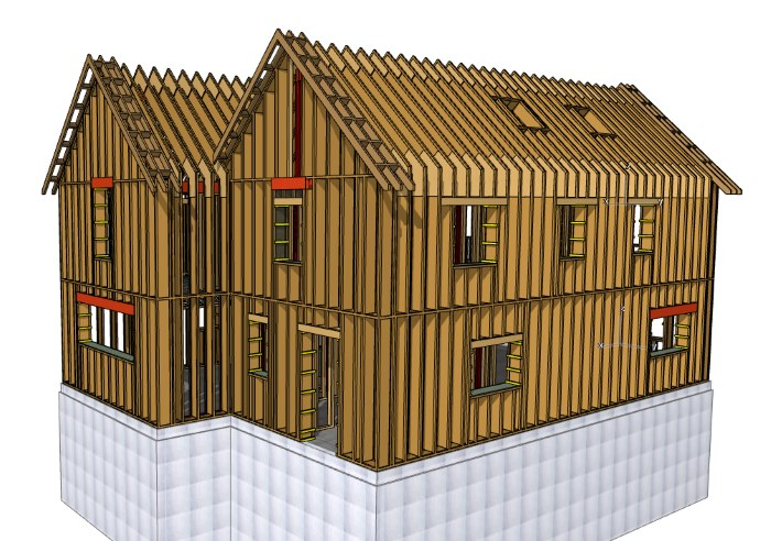 Buckinghamshire Passivhaus timber frame