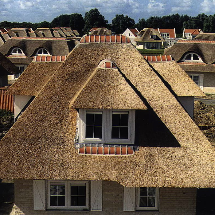 hph160 is a thatched roof appropriate for a new build home with stephen letch - Thatched Rood