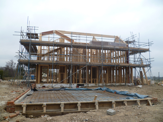 Mike-timber-frame-house-construction