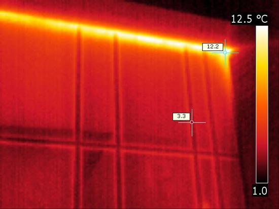 Exterior-heat-loss