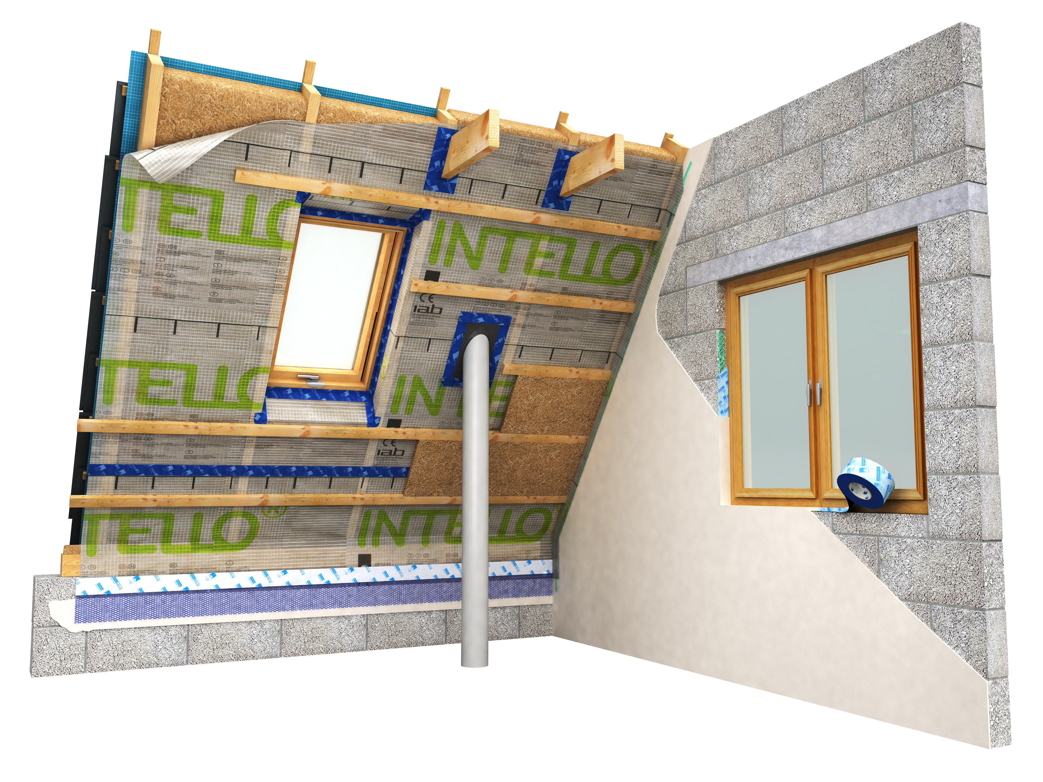 airtightness layer interior