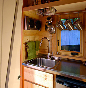 Sink-in-tiny-house