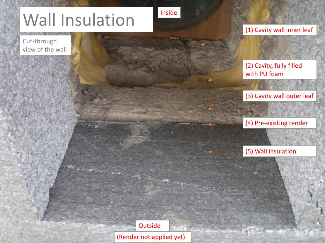 Admirals-Hard-wall insulation