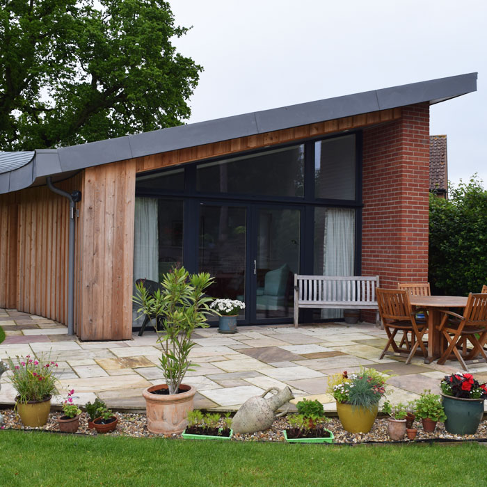 Building a home in your garden for your retirement with for Help me build a house