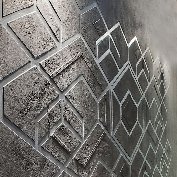 Plaster Wall Finishes : Natural clay plaster wall finishes