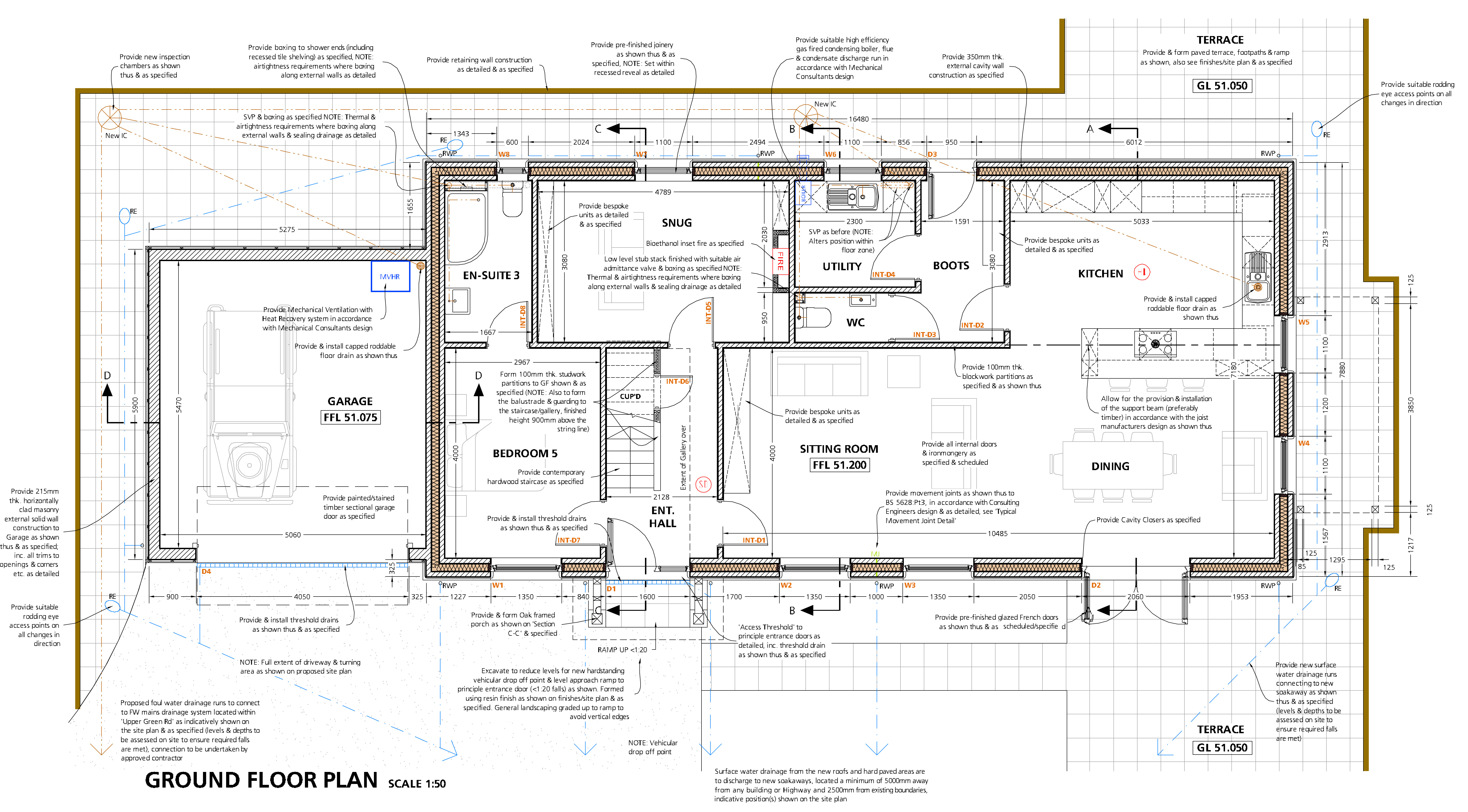 Specifying a house and creating tender documents
