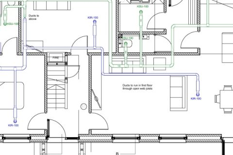 <em>HPH202 : </em>Designing the ventilation, heating, and hot and cold water systems for Ben's house<u> – with Alan Clarke</u>