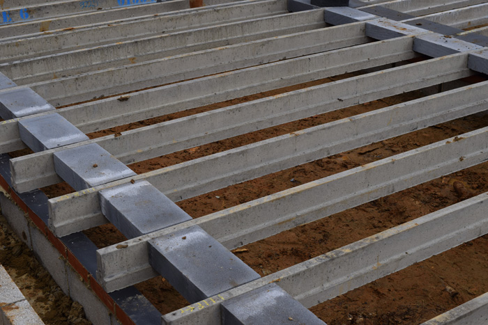 Ben's self-build story: laying a beam and block floor
